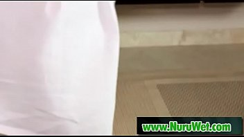killer masseuse gives nuru gel rubdown.
