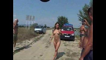 public nude and pee towheaded nubile.