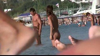 youthful naturism beach nubiles - nudists.
