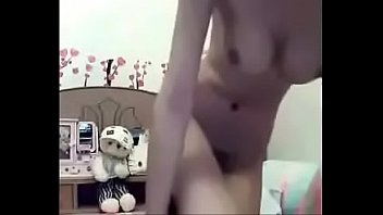thai cam teenager nymph fap with a faux.