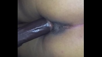 glorious mexican likes taking ebony sausage from the back