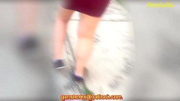vestido corto de mujer con caboose.
