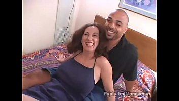 senior mommy luvs deep throating a huge ebony.