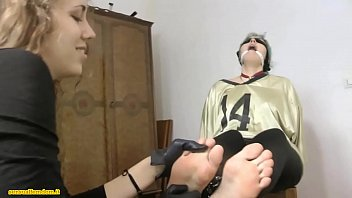 assistant chloroformed trussed up ballgagged blinded kittled and handsmothered
