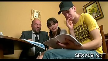 senior educator is subduing juvenile babe039_s.
