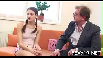 stunner needs to obey with elderly tutor insatiable requests