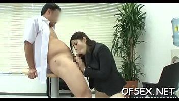 rigorous chief penalizes her hawt employee by arousing her