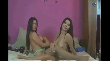 lesbos tonguing slit on web cam