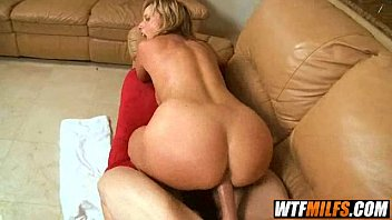 magnificent cougar home alone jodi west gets plumbed.