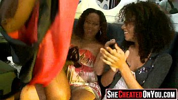 nineteen ladies caught on camera gargling.