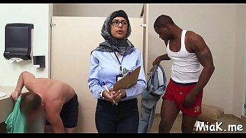 kinky arab playgirl receives a harsh pulverize from.