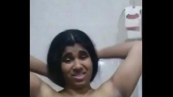 beautiful indian bhabhi bathing selfie