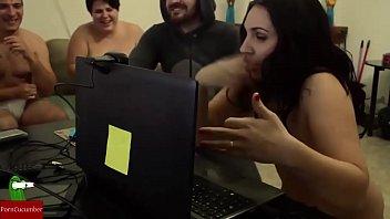crimson-hot duo frolicking fucky-fucky games on web cam.