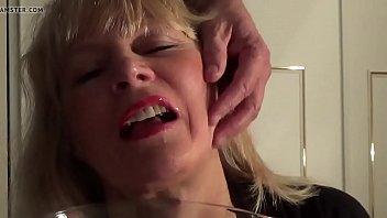 mature silver-blonde luvs pee and spunk
