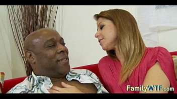 daughter-in-law drills her ebony father 525