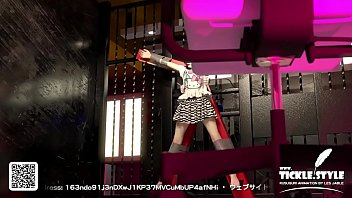 3 dimensional anime damsel mid-body kittle.