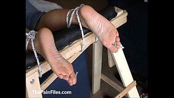 extreme foot idolize and feet needle dominance &.