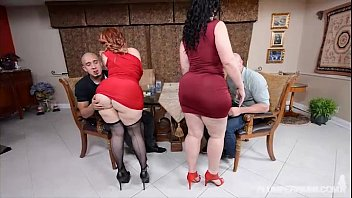 2 plus-size phat ass milky girls take on.
