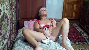 undies inserted in gash -
