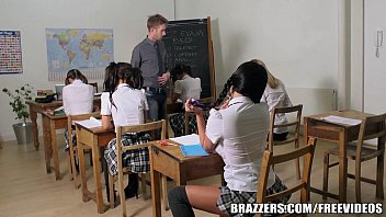 brazzers - youthfull school chick does.