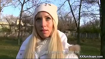 public oral from teenager euro tart for cash.
