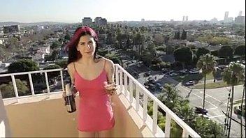 joanna angel porking a vodka bottle