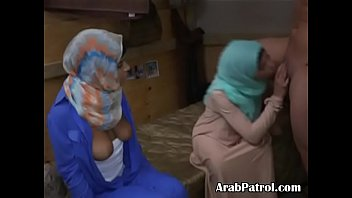 arab teenage street prostitutes smooching each other and.