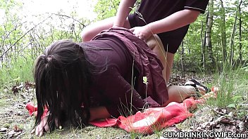slutwife marion gets creampied by bunch.
