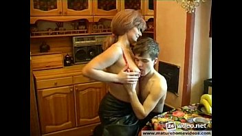 russian sandy-haired mommy entice her sonny