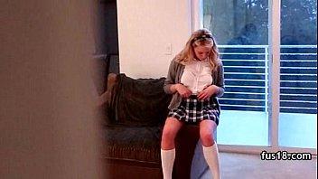 supah-steamy highschool chick humping inward ejaculation