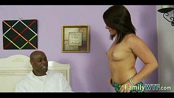 daughter-in-law nails her ebony father 144
