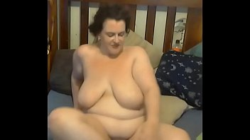 plus-size gets spunk cascaded all over her and.