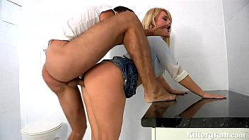 steamy ash-blonde cougar deepthroats bangs hefty hefty fuckpole.