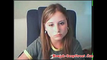 marvelous nubile demonstrates her bumpers on web cam.