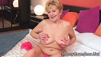 older grannie gets railed