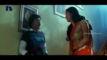 lakshmi rai in crimson saree lawrence and lakshmi.
