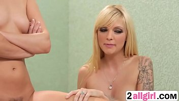 cool silver-blonde jana jordan takes care of her.