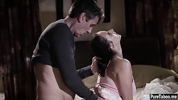 stepdaughter nubile penetrated in her plump donk by.