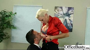 rhylee richards thick-chested steamy office tart female love.