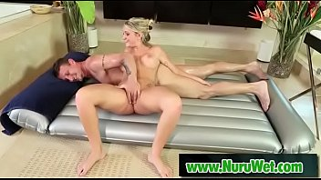 supah-sexy masseuse gets her poon plumbed adorned in.