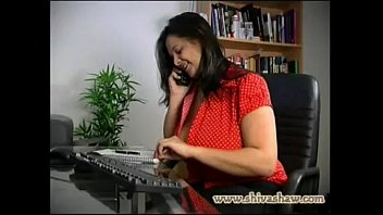 desi ultra-kinky aunty smartphone converse with paramour with.