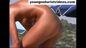 nude woman on beach four