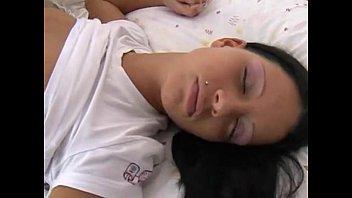 teenage ebony-haired pounded while sleeping - pornography vids.