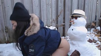 legal year elder mega-slut boinked by snowman get.