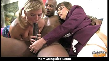 mommy takes large dark-hued meatpipe 22