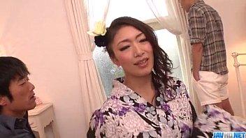 reiko kobayakawa sure enjoys boning in.