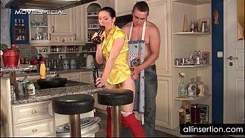 housekeeper gargles giant shag stuffs and trouser snake.