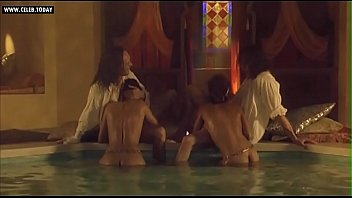 audrey tautou - bare group of dolls bathing.