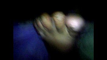 paja con los pies de mi mujer dormida 28
