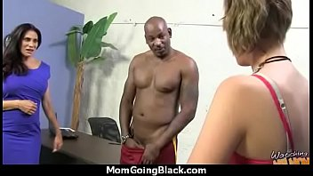 nasty cougar smashes youthfull dark-hued guy.